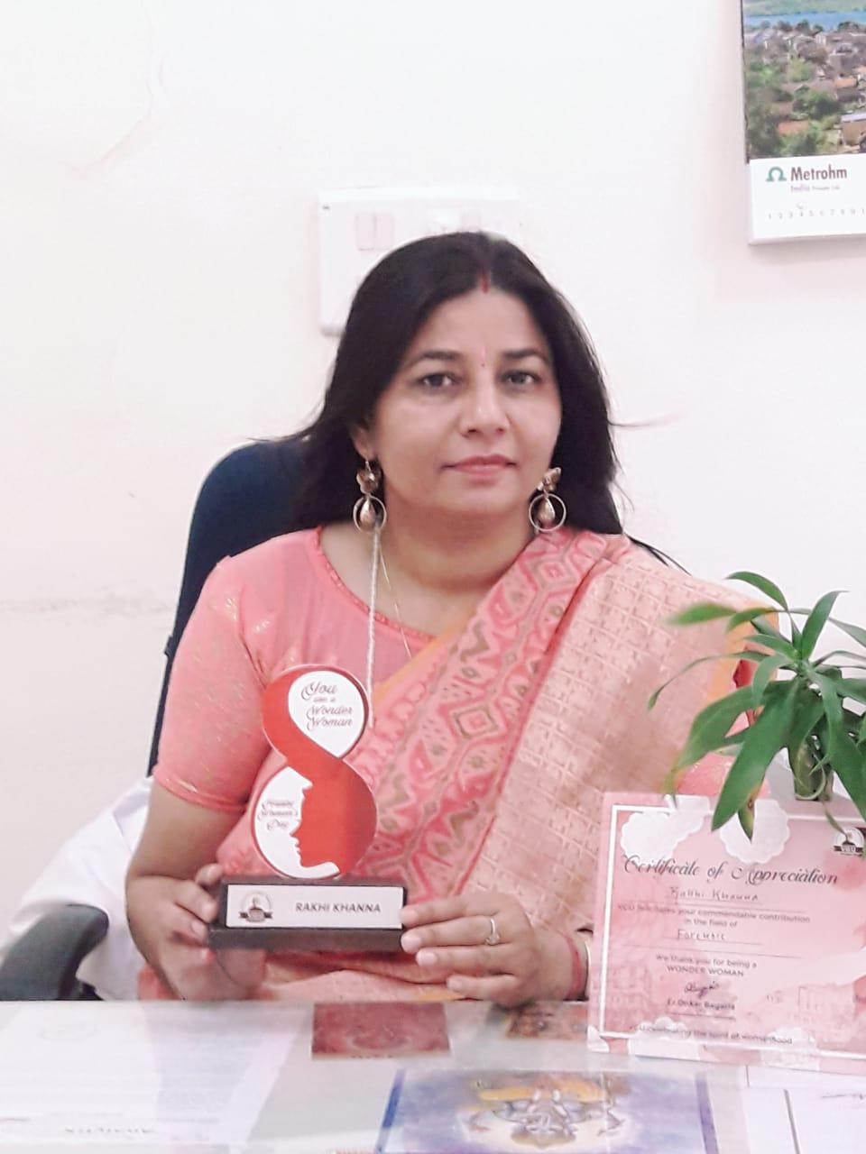 Dr. Rakhi Khanna